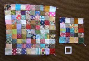 "125 Postage Stamp 1"" squares"