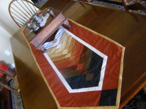 DS FB Table Runner on Table