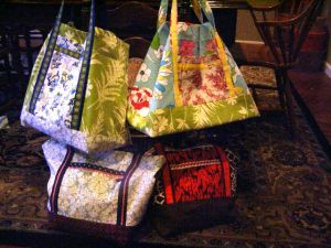 Stash Couture Market Bags