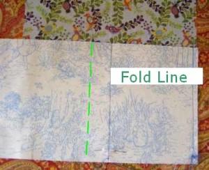 Step 4: Fold Line