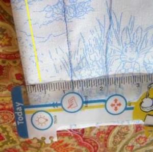 Step 5 Sewing Line