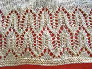 AC-Proof Sweater Lace Detail