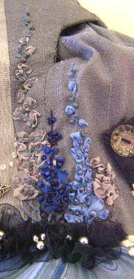 Silk Ribbon Lupines
