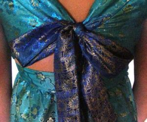 DD Dress- Back Tie Knot