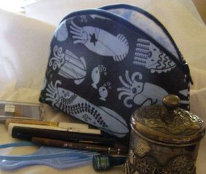 Completed Destashification Make-Up Bag