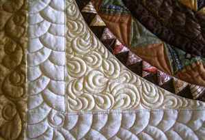 Isn't this quilting just stunning?