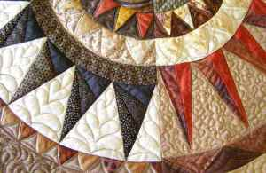 Beautiful quilting.