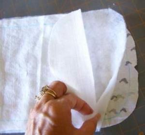 4.  Fabric Sandwich