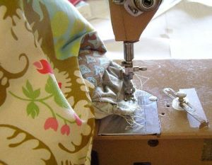 "15.  Stitching the ""tack"""