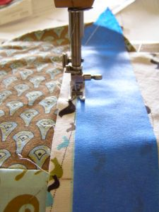 11.  Sewing a Straight Seam the Easy Way!