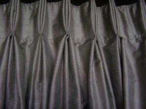 Hand sewn pleats