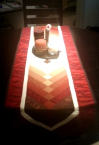 Picture of Table Runner in its intended location