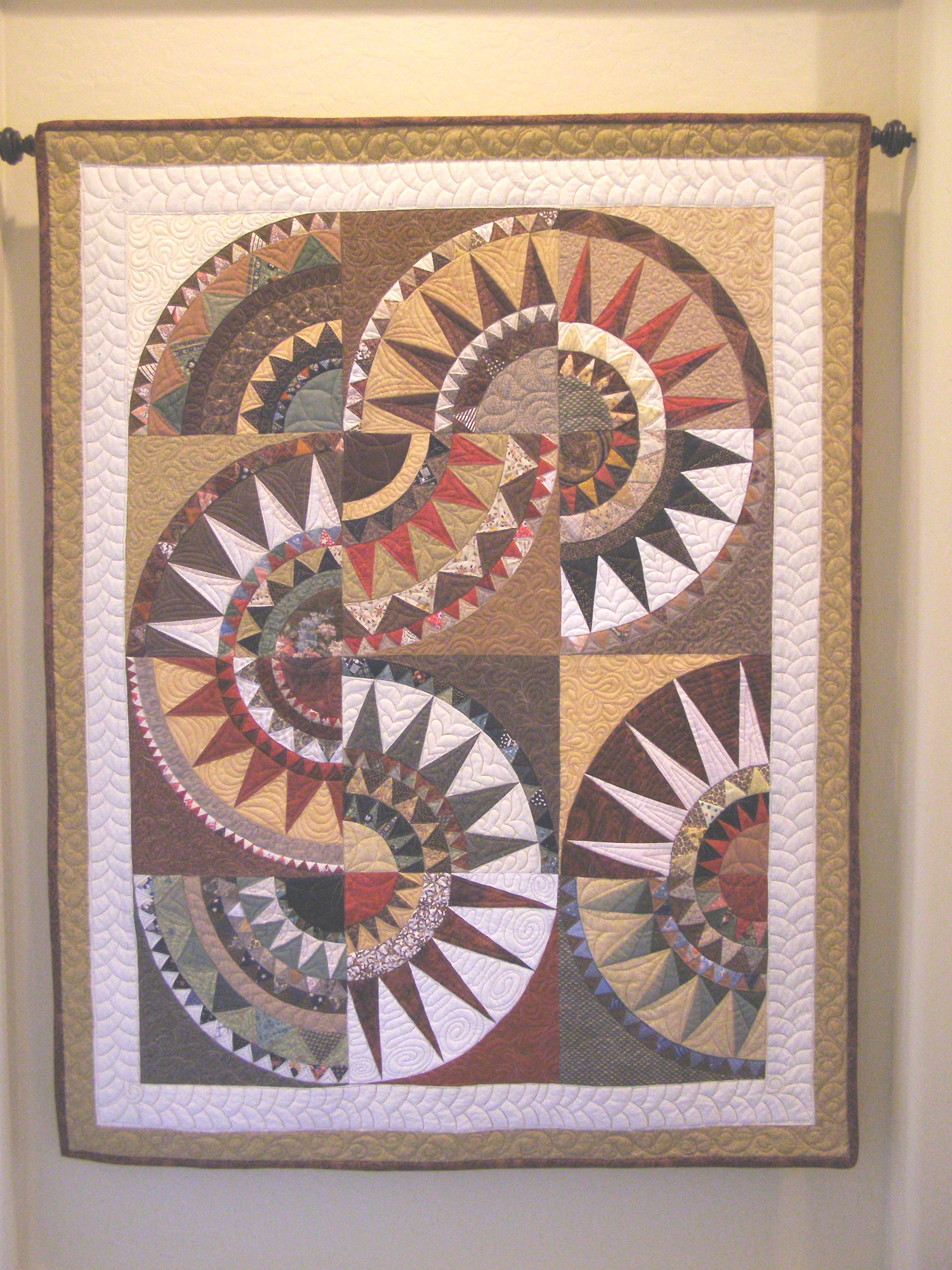 More On The 3 Generation New York Beauty Quilt The