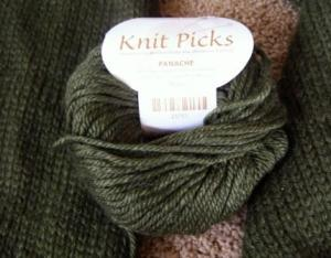 Knit Picks Panache in Moss - Wonderful to touch!