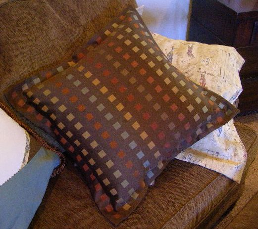 Completed Flanged Pillow