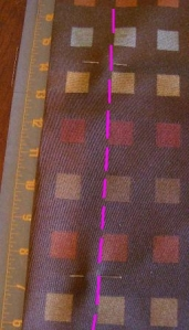 "Pin and sew 2"" from edge all the way around pillow to create flange."