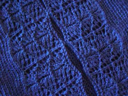 Detail of Linen Cardigan Lace