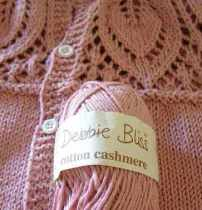 Debbie Bliss Cotton Cashmere from The Stash
