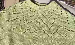 Silk Sage Sweater: Completed in a Football Weekend!