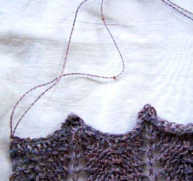 Beaded Yarn