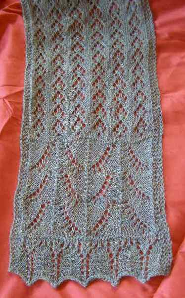 Beaded Alpaca Lace Scarf