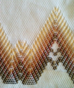 Arizona Mountains Huck Towel Design