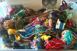 The Embarrassing Embroidery Thread Stash