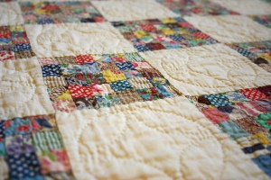 Postage Stamp Quilt by Cara