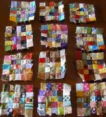 More blocks - these have not been ironed!
