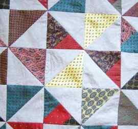 Pinwheel Block detail