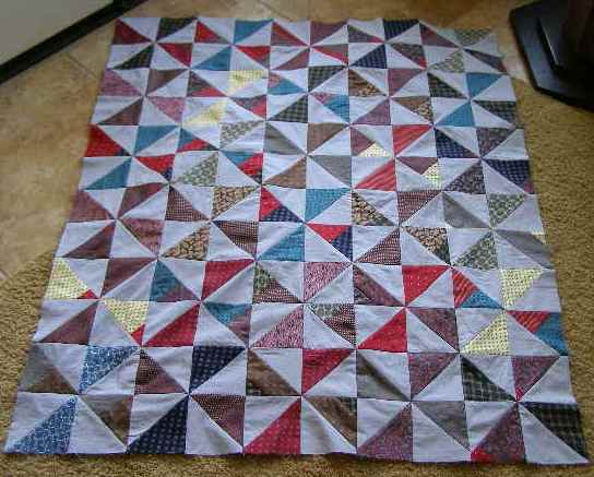 Grandpa's Ties Quilt | The Destashification Project : tie quilt pattern - Adamdwight.com