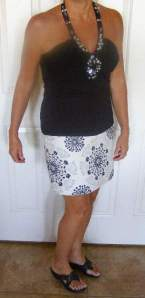 Arizona skirt outfit