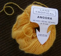 Angora Yarn from The Stash