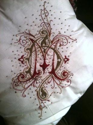 Monogram Pillow MH