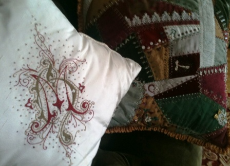 Pillows from Christmas Past