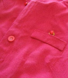Pocket and Button Detail