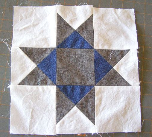 Ohio Star Quilt: The Math-Free Version, Part 2. | The ... : ohio star quilt pattern free - Adamdwight.com