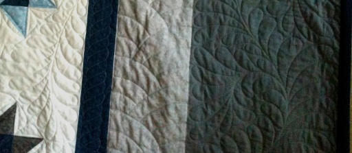 Border Quilting Detail
