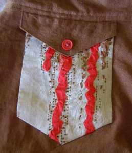 Embellished Pocket
