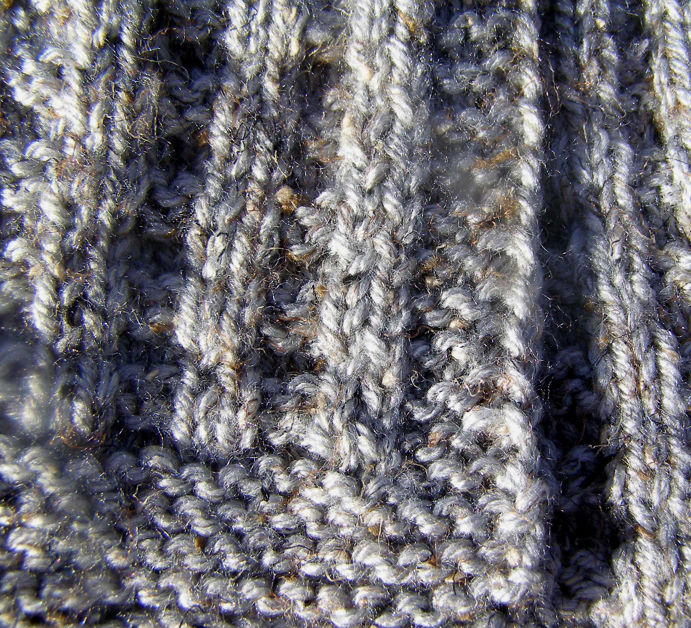 Knitting Stitches Waffle Stitch : Waffle Scarf: Stash Couture from Simple Knitting Stitches The Destashificat...