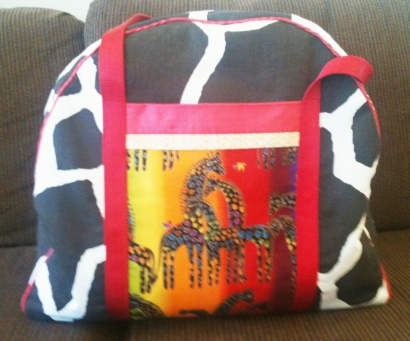 Giraffe Overnight Bag