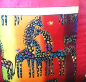 Laurel Burch Giraffes