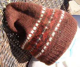 DK Stash Couture Fair Isle Hat