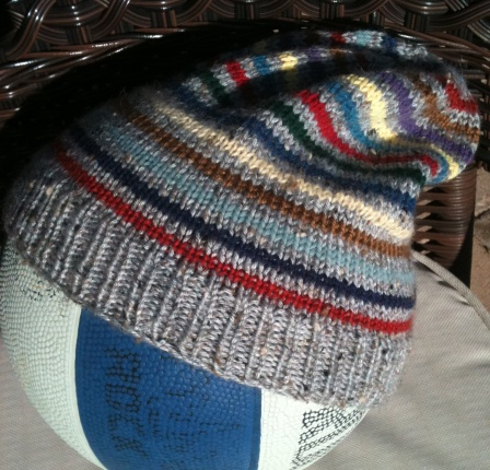 Striped Slouch Hat!