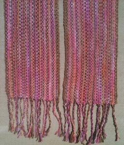 Scrap Couture Linen Stitch Scarf