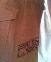 Topstitching Detail