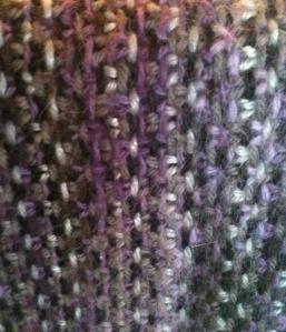 Linen Stitch Detail
