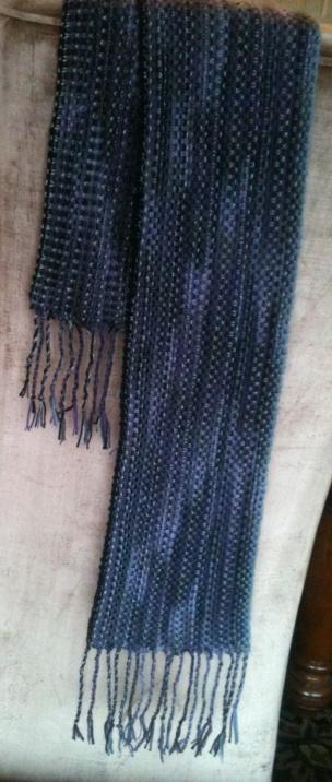 Angora Linen Stitch Scarf