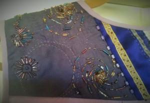 Left Yoke Embellishment Detail