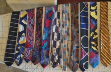 Some of the 200+ ties
